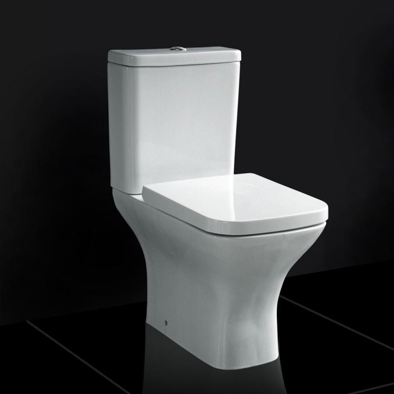 Technique Modern Square Bathroom Suite Alessia