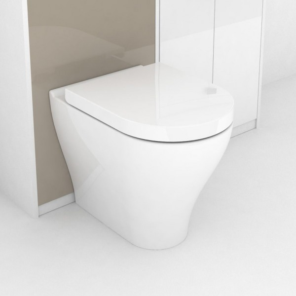 Cersanit Hanna Back to Wall Pan with Soft Close Seat