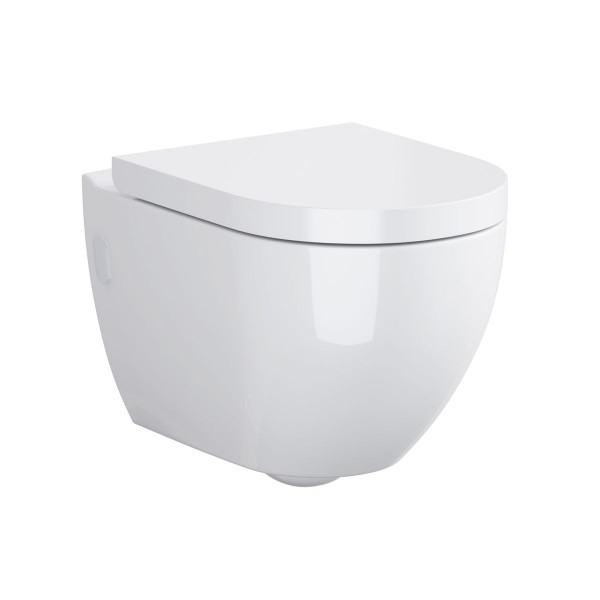 Cersanit Hanna Wall Hung Toilet with Soft Close Seat