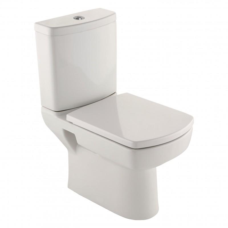 Kale Modern Square Designer Bathroom Suite Bari