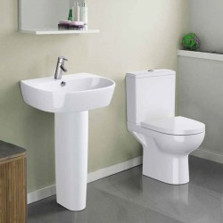 Cersanit Contemporary Bathroom Suite Fulvia