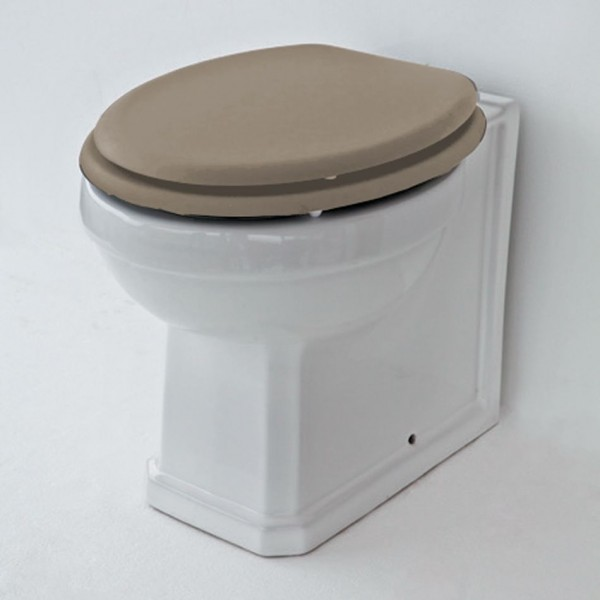 Warwick Back To Wall Pan Toilet with Soft Close Seat