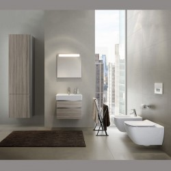 Cersanit Modern Bathroom Wall Hung Suite Metro
