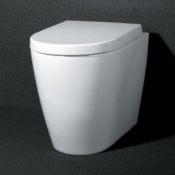 Roma Back To Wall Pan Toilet with Soft Close Seat