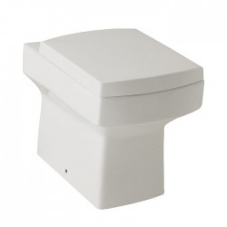 Square Modern Back To Wall Toilet with Soft Close Seat