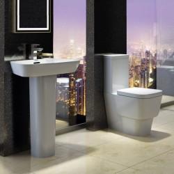 Technique Modern Cube Bathroom Suite Claudia
