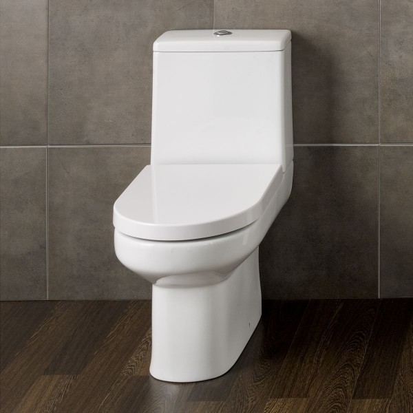 D Shape Toilet With Soft Close Seat