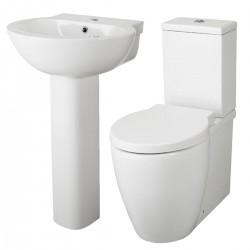 Technique Modern Round Bathroom Suite Questa