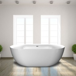 Small Free Standing Oval Bath