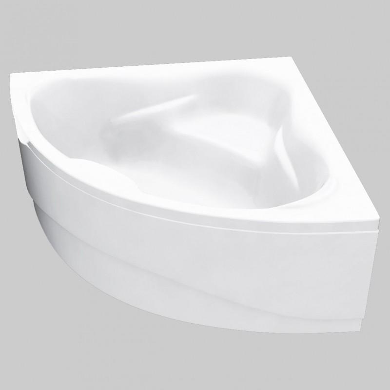 Double sided corner bath 1300 x 1300 mm for Small baths 1300
