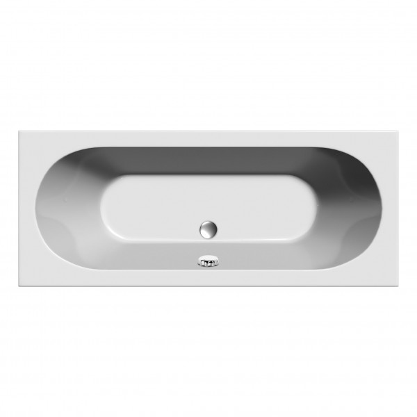 Round Double Ended Bath 1700 x 750mm