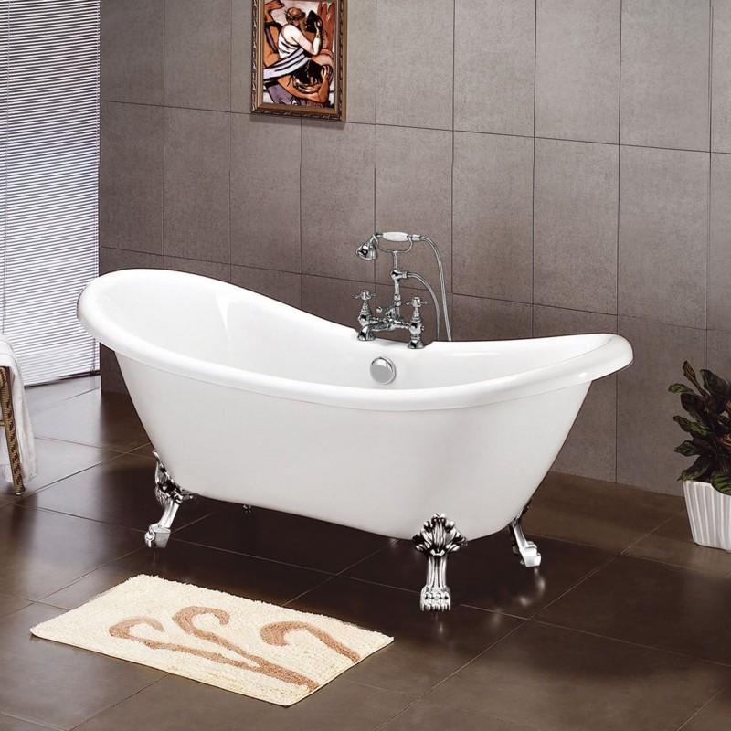 Slipper bath 28 images design 1680 slipper bath bath for Slipper tub bathroom design