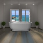 Large Free Standing Oval Bath 1795 x 810 mm