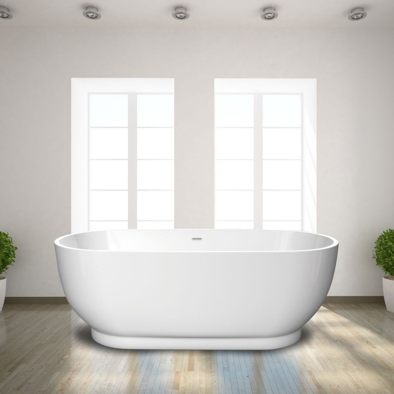 Large free standing oval bath 1795 x 810 mm for Oversized baths