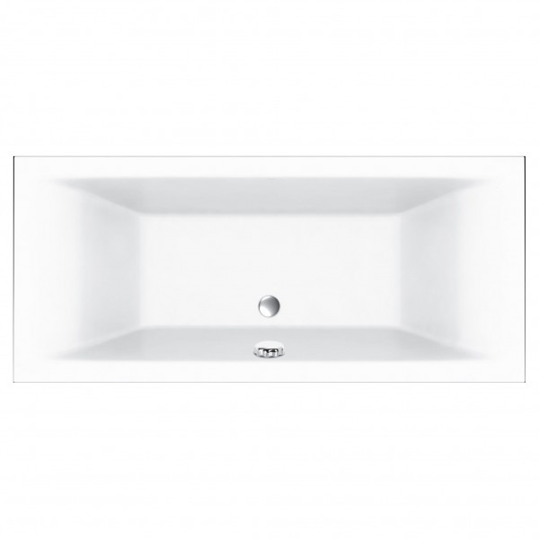Square Double Ended Bath 1800 x 800 mm