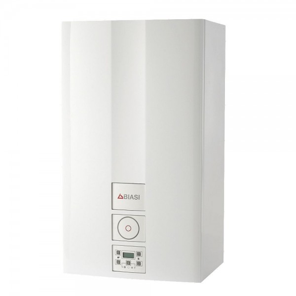 Biasi Advance Plus 30kW Combi Boiler ERP  + Flue + Clock