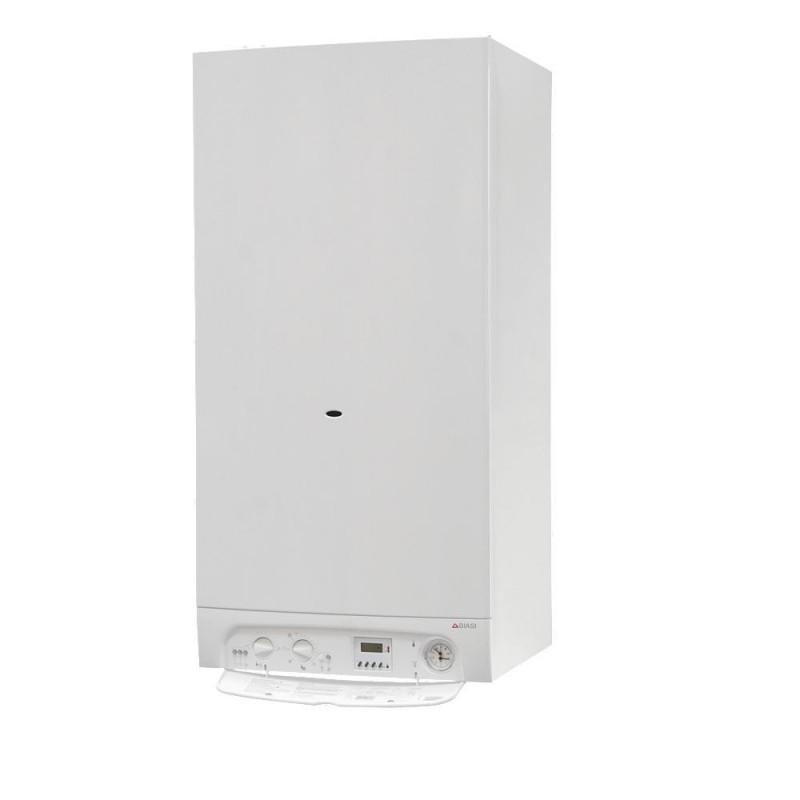 Biasi Riva Plus 28kw Combi Boiler Erp Flue Clock