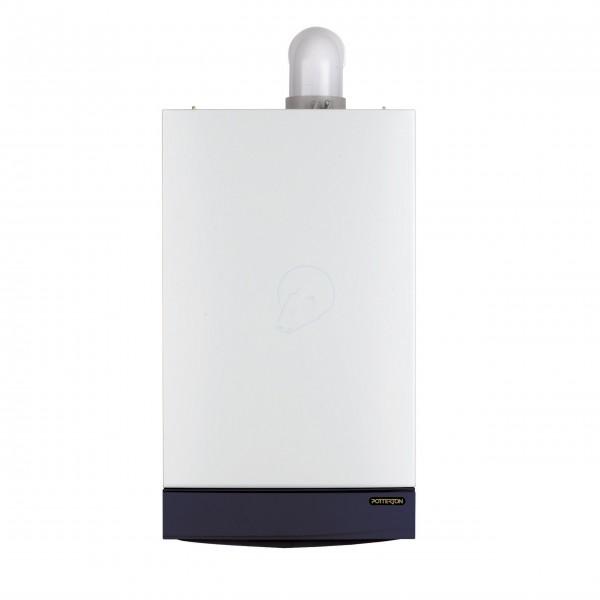 Potterton Gold 28he condensing combi boiler + Flue + Clock