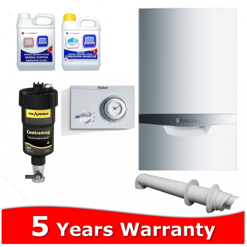 Vaillant ecoTEC Pro 24 Combi Boiler and Filter Pack - Plumbing ...