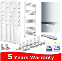 Vaillant ecoTEC Plus 938 Combi Heating Pack 7 Radiators
