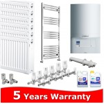 Vaillant ecoTEC Pro 24 Combi Heating Pack 7 Radiators