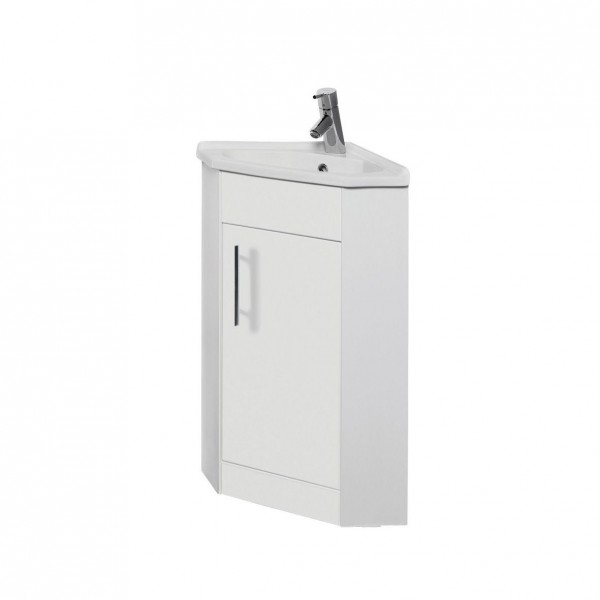 Classic Vanity Unit Corner Cabinet with Basin