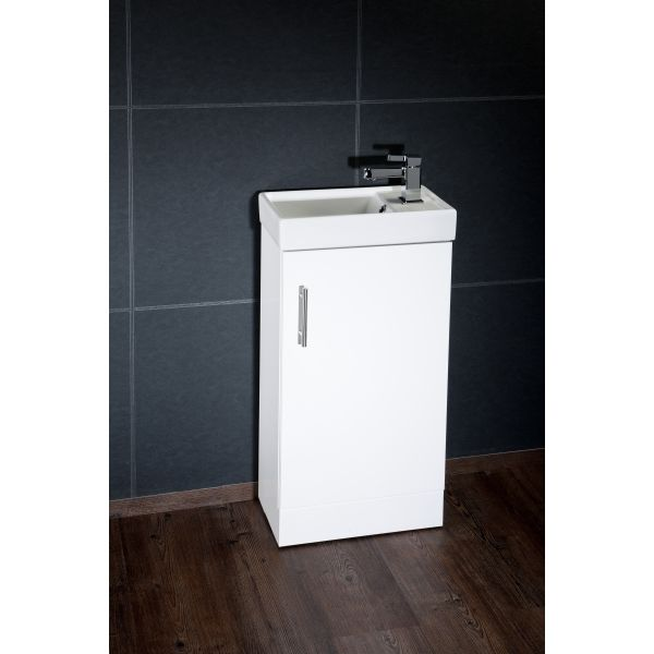 Classic Vanity Unit Cube Cloak Unit Cabinet with Basin