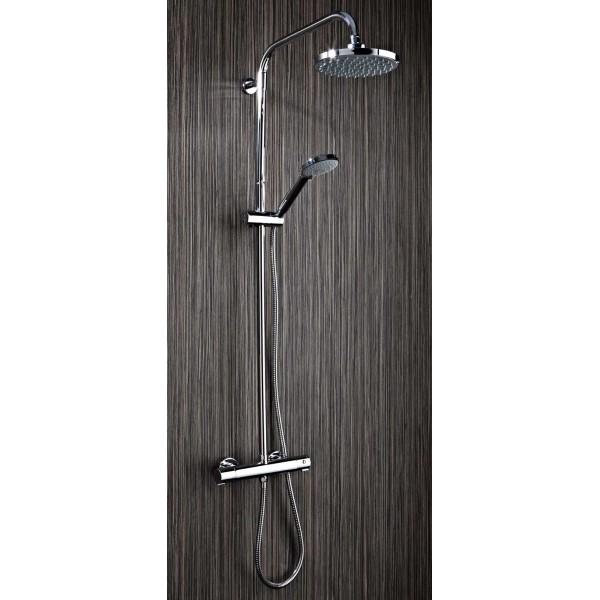 PHN Round Shower and Riser Kit