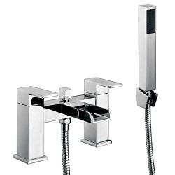 Scudo Victoria Waterfall Bath Shower Mixer Tap